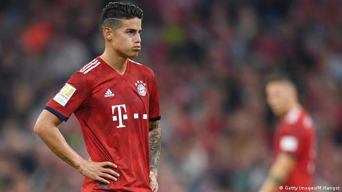 promo code e0ecc d22c4 Knee injury sidelines James Rodriguez until 2019 | Sports ...