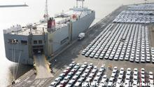 Emden: Auto Export (picture-alliance/dpa/J. Sarbach)