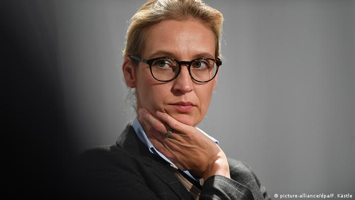 Alice Weidel AFD (picture-alliance/dpa/F. Kästle)