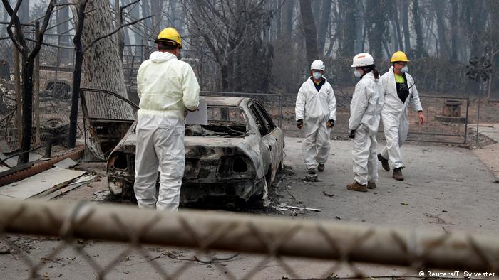 USA Waldbrände in Kalifornien | Suche nach Leichen
