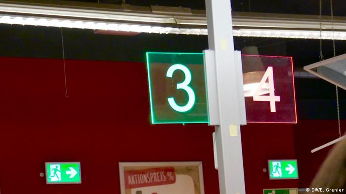 Supermarktkasse (DW/E. Grenier)