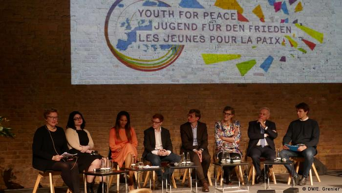 Youth for Peace discussion (DW/E. Grenier)