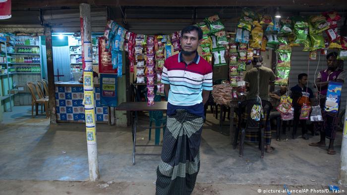 بنغلاديش - نور أمين ، لاجئ من الروهينغا (صورة تحالف / AP Photo / D. Yasin)