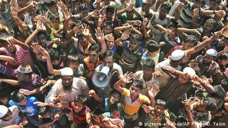 Bangladesh - Rohingya refugees (picture-alliance/AP Photo/D. Yasin)