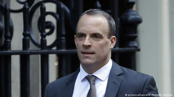 Dominic Raab (picture-alliance/AP Photo/M. Dunham)