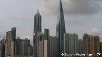 The skyline of Pudong