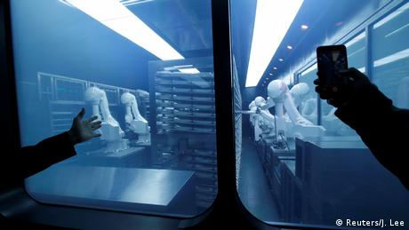 Roboter-Restaurant in Peking (Foto: Reuters)