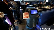 China Roboter-Restaurant in Peking