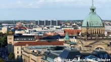 Deutschland Stadtansicht Leipzig