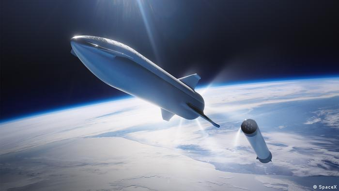 SpaceX Big Falcon Rocket (SpaceX)