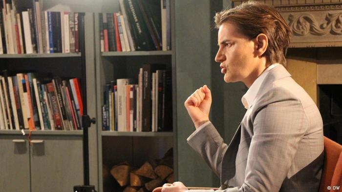 DW Conflict Zone mit Ana Brnabić