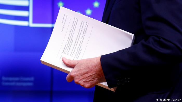 EU Brexitabkommen vorgestellt