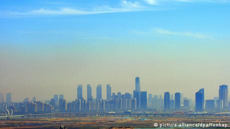 Songdo skyline (picture-alliance/dpa/Yonhap)