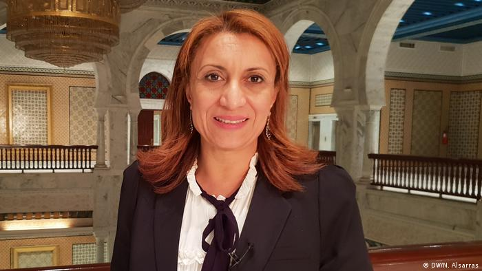 Tunis Souad Abderrahim Bügermeisterin (DW/N. Alsarras)