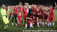 UEFA Nations League Gibraltar Liechtenstein
