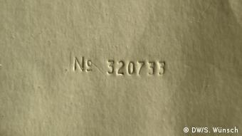 The Beatles White Album serial number (DW/S. Wünsch)