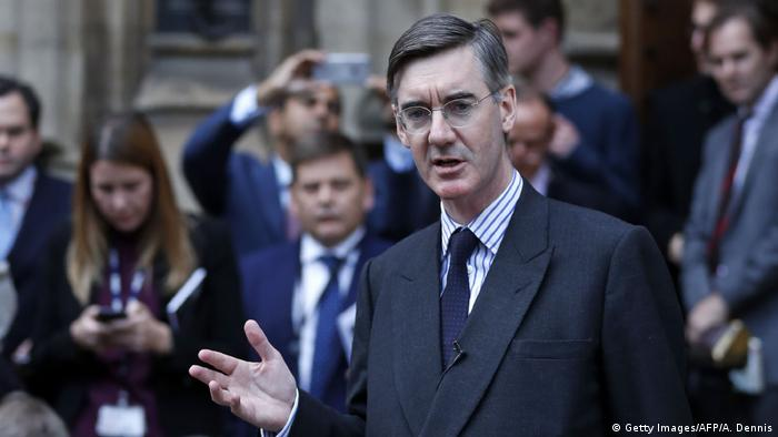 UK Brexit | Parlament - Jacob Rees-Mogg (Getty Images/AFP/A. Dennis)