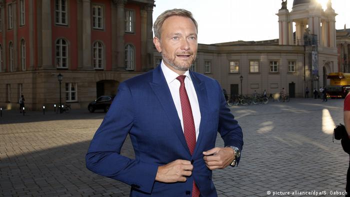 Немецкий политик Кристиан Линднер
