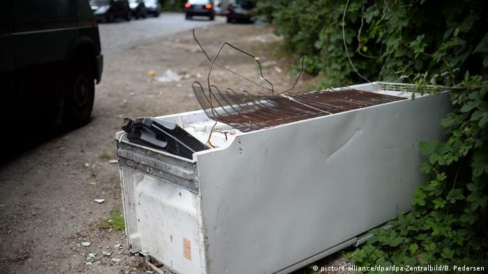 Нелегальная утилизация электроприборов