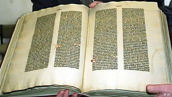 Gutenberg-Bibel Flash-Galerie