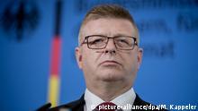 Deutschland PK Verfassungsschutz Präsident Thomas Haldenwang