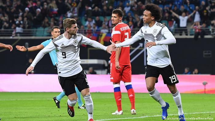 Fussball Freundschaftsspiel   Deutschland - Russland (picture-alliance/dpa/Revierfoto)