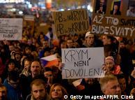 Акция протеста против Андрея Бабиша в Праге, 15 ноября 2018 года