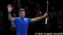 Großbritannien ATP Finals in London - Roger Federer (Getty Images/C. Brunskill)