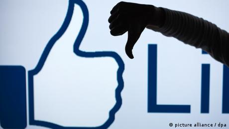 Facebook - Dislike (picture alliance / dpa)
