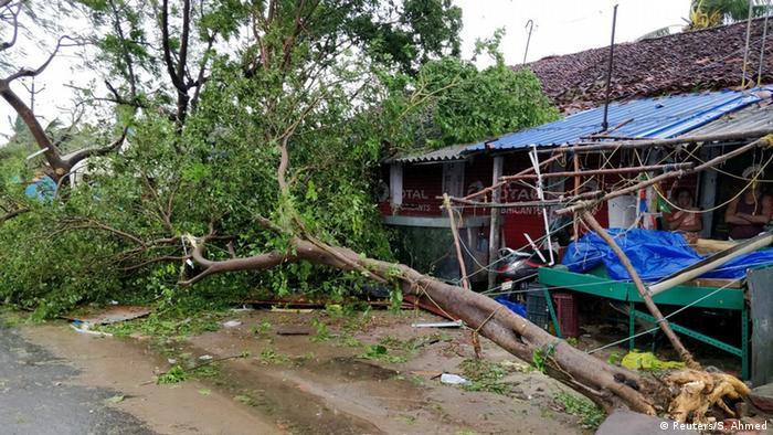 Indien, Tamil Nadu: Die Folgen des Zyklons Gaja