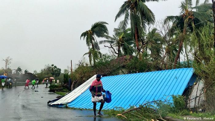 Наслідки тайфуну в штаті Таміл-Наду