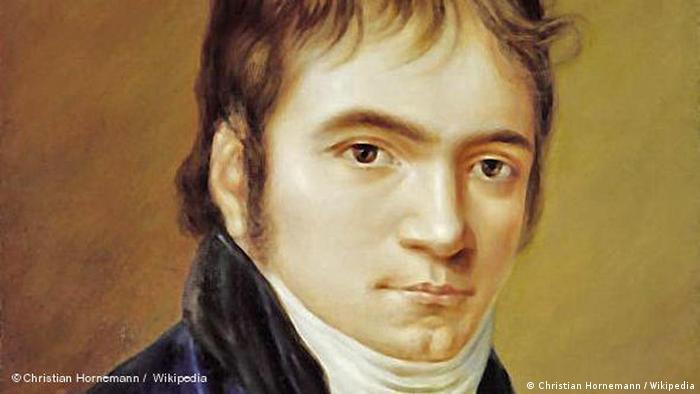 Quadro mostra Beethoven em 1803