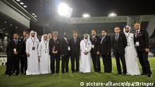 FIFA-Inspektionsreise in Katar