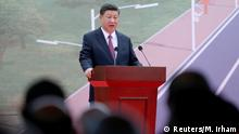 Chinese President Xi Jinping speaking ahead of the APEC summit