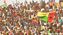 Photos of the coach of Guiné-Bissau, Baciro Candé and the players of the national team of Guinean football. Location: Bissau Date: October 2018 Author: Braima Darame, DW Bissau Keyword: Selection of Guinea-Bissau