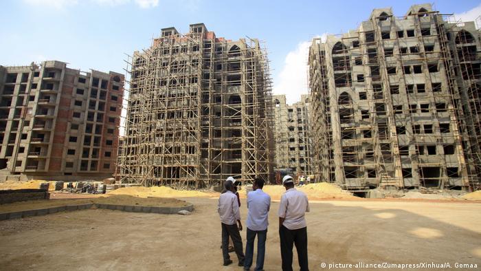 Ägypten Bauarbeiten (picture-alliance/Zumapress/Xinhua/A. Gomaa)