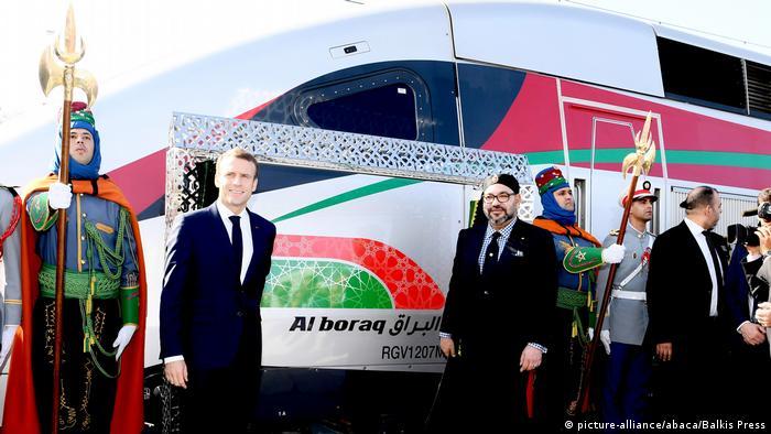 Marokko Tangier   Einweihung Schnellzug Al Boraq