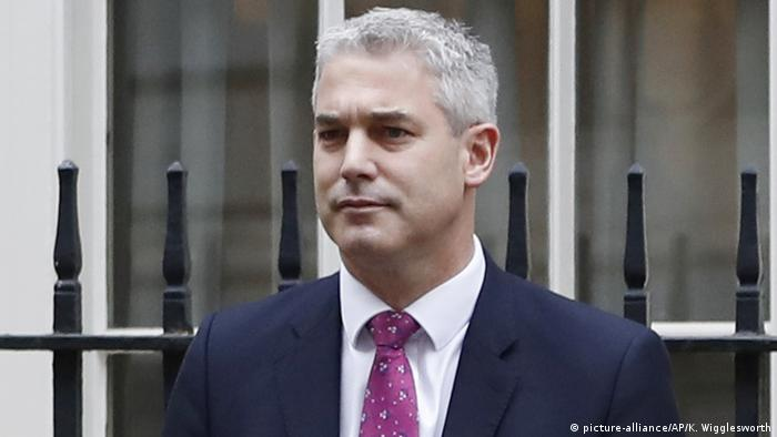 Großbritannien London Neuer Brexit-Minister Stephen Barclay (picture-alliance/AP/K. Wigglesworth)