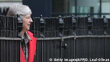 Großbritannien London Theresa May