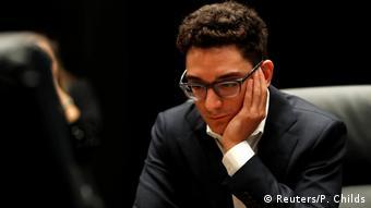 Schachweltmeisterschaft 2018 | Magnus Carlsen vs. Fabiano Caruana | 1. Partie (Reuters/P. Childs)