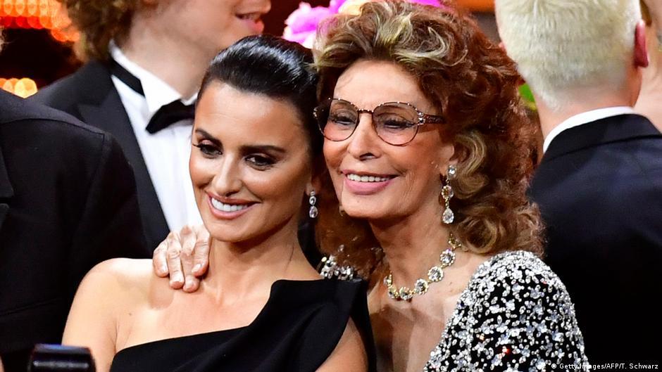 Deutschland Bambi Verleihung 2018 Penelope Cruz und Sophia Loren