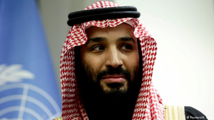 Foto do príncipe herdeiro saudita, Mohammed bin Salman