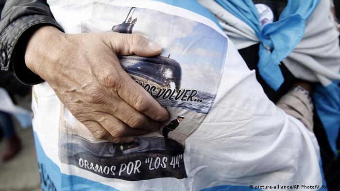 Argentinien Jahrestag des vermissten U-Boots ARA San Juan (picture-alliance/AP Photo/V. Robles)