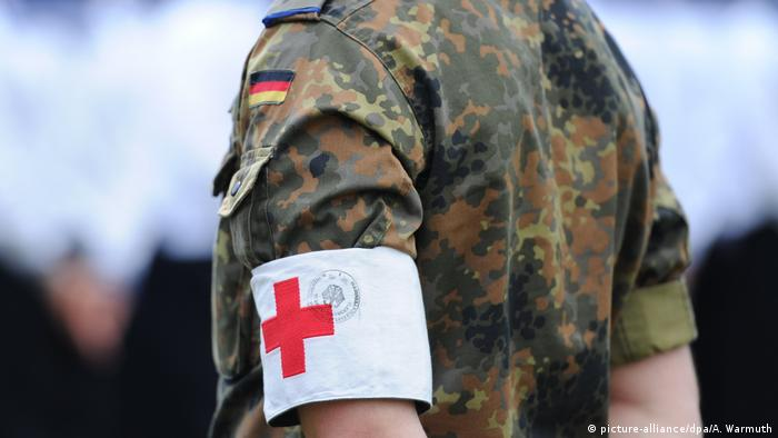 Photo of German army medic
