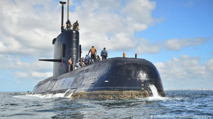 Privatfirma ortet vor Argentinien verschollenes U-Boot (picture-alliance/dpa/AP/Argentina Navy)