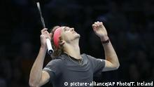 ATP World Tour Finals in London | Alexander Zverev, Deutschland (picture-alliance/AP Photo/T. Ireland)