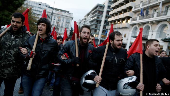 Griechenland Mindestens 12.000 Menschen gedenken in Athen der Studentenrevolte von 1973