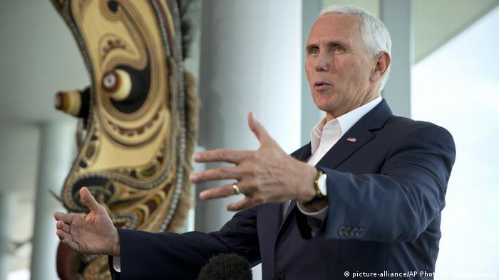 Papua-Neuguinea Mike Pence bei der APEC Konferenz