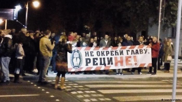 Protesti u Aranđelovcu