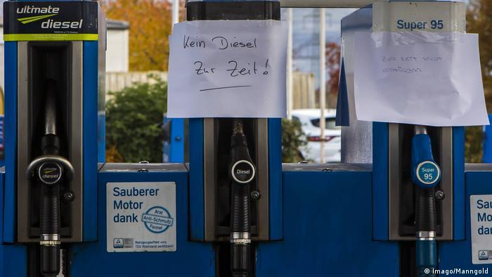 Deutschland Trockenheit | Treibstoffmangel (Imago/Manngold)